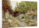 Herbaceous Border by Evelyn L. Engleheart