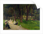 In The Park by Albert Leopold Pierson