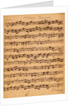 The Brandenburger Concertos, No.5 D-Dur by Johann Sebastian Bach