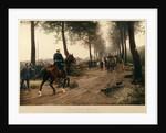 Bismarck and Napoleon meeting at the Chaussee von Donchery by Anton Alexander von Werner