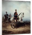 Frederick III Wilhelm on the Bornstedter Field by Hermann Meyerheim