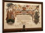 Letter admitting a Freeman of Berlin, 27th March 1871 by Adolph Friedrich Erdmann von Menzel