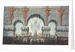 Muehleborn's Water Palace, set design for a production of 'Undine' by Karl Friedrich Schinkel