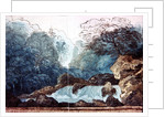 Waterfall in a wood, set design for a production of 'Undine' by Karl Friedrich Schinkel