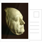 Goethe's Mask by Ludwig Weisser