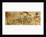 'Faithful Men are the best wall' by Moritz Ludwig von Schwind