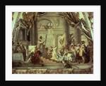 Emperor Frederick Barbarossa's wedding to Beatrix of Burgundy in 1156 by Giovanni Battista Tiepolo