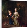 Crown Prince Frederick II with his sister Wilhelmine by Antoine Pesne