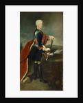 The Crown Prince Frederick II by Georg Wenceslaus von Knobelsdorff