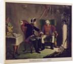 Frederick II and General von Ziethen by German School