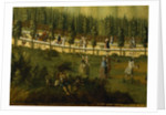 Frederick the Great on horseback in the Maulbeerallee, near Sanssouci by German School