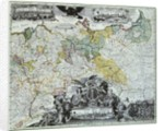 Master Sheet of the Prussian Sovereign Countries by German School