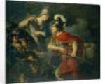 Minerva Showing her Envy in the Polished Shield by Christian Bernhard Rode