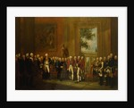 Reception for the Duke of York in Sanssouci by Edward Francis Cunningham