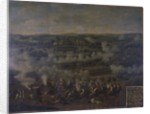 The Battle of Rossbach by German School