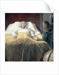 Columbus on his Death Bed by Unknown