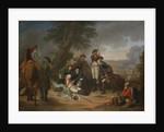 The Death of Field Marshal Schwerin at the Battle of Prague by Johann Christoph Frisch