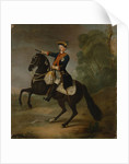 Kurt Christoph Graf von Schwerin on horseback by Antoine Pesne