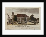 The Church of St. George in Konigsstadt, Berlin by F.A. Calau