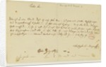Letter from Mozart to a freemason by Wolfgang Amadeus Mozart