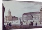 The Gerndarmenmarkt by F.A. Calau