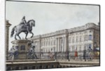 The long bridge with an aristocratic monument by F.A. Calau