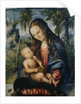 Madonna under the fir tree by Lucas the Elder Cranach