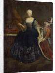Elisabeth Christine von Braunschweig as Queen by Antoine Pesne