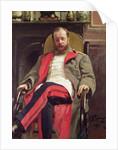 Portrait of Cesar Cui by Ilya Efimovich Repin