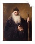 Protodiakon by Ilya Efimovich Repin