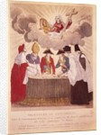 Signing the Concordat between Napoleon and Pope Pius VII by Basset