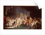 The espousal of Prince Jerome Bonaparte and Princess Catharina Frederica of Wuerttemberg, in Paris by Jean-Baptiste Regnault