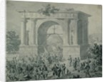 The entrance of French troops to A'Osta in May 1800 by Nicolas Antoine Taunay