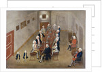 The smoking council of Frederick William I of Prussia by George Lisiewski