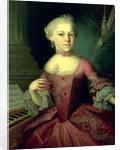 Maria-Anna Mozart, called 'Nannerl' by Peter Anton Lorenzoni