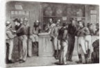'A general shout', inside a bush tavern by English School
