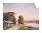 Mississippi River Plantation by John Barnard