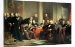 Men of Progress: group portrait of the great American inventors of the Victorian Age by Christian Schussele