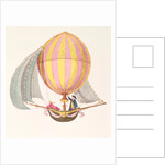 Design for a dirigible, French by French School