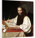 Portrait of Jose de Siguenza, prior and librarian of the monastery of San Lorenzo by Spanish School