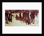 Baron von Steuben drilling American recruits at Valley Forge in 1778 by Edwin Austin Abbey