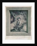 Portrait of John Paul Jones, engraved by Carl Guttenberg by Claude Jacques Notte
