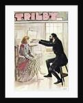 Trilby hypnotised by Svengali by George L. Du Maurier