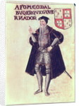 Affonso d'Albuquerque, Portuguese viceroy of the Indies by Portuguese School