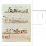 St. Patrick's Day procession in 1837 and processions for Henry Clay, Governor Francis Schunk and James Polk in 1844 by American School