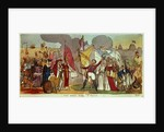 The Holy War - A Vision, satirical cartoon of the struggle for Catholic Emancipation in Ireland by English School