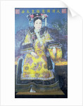 Portrait of the Empress Dowager Cixi by Chinese School