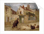 Lawyer Going to Court by Thomas Couture