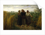 Returning from the Fields, 1871 by Jules Breton