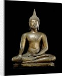 Buddha at the Moment of Victory, Sukhothai style by Thai School